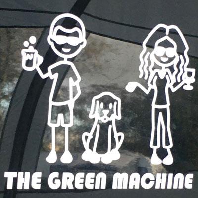 The Green Machine logo